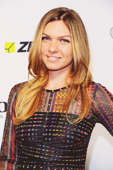 Simona Halep in NYC at the Taste of Tennis Party 2015 #WTA #Halep
