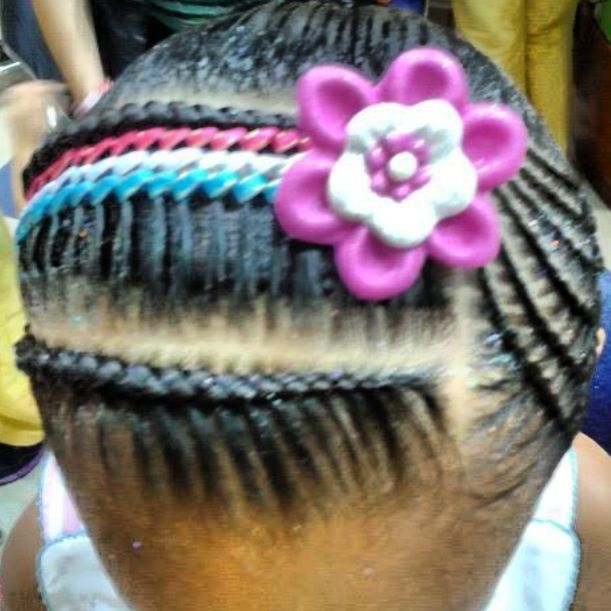 Peinado para bebe con cinta