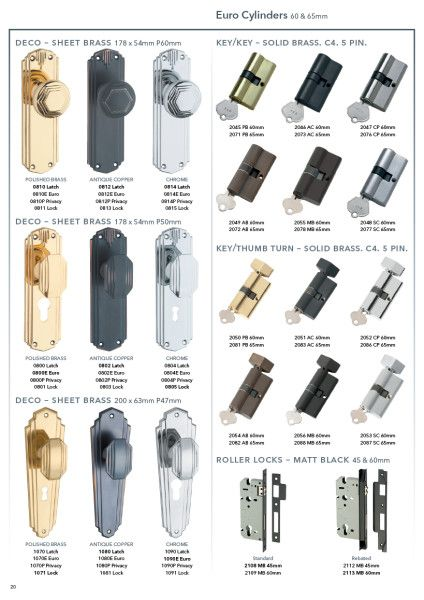 Door Furniture - Tradco
