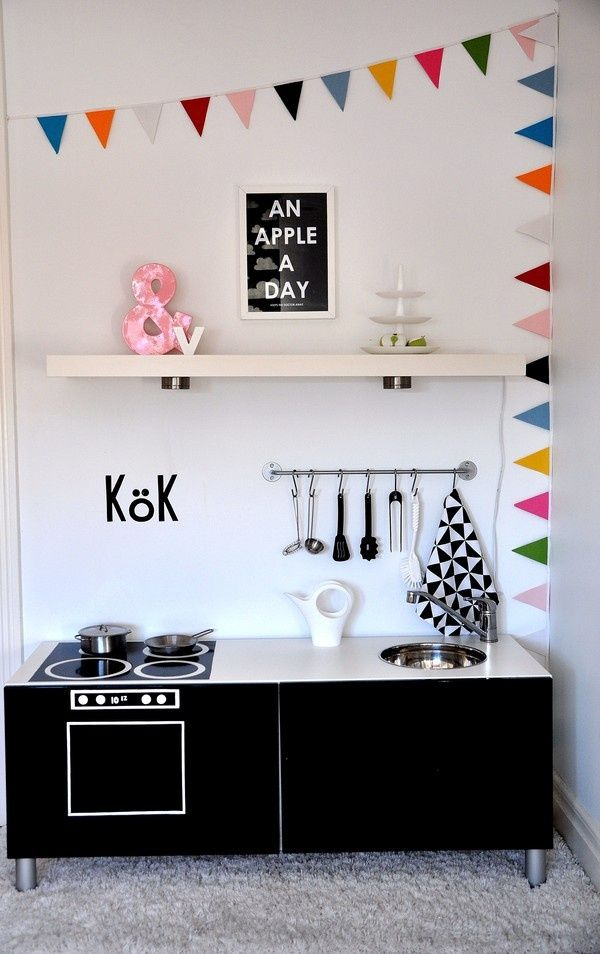 IKEA HACKS FOR KIDS #kid #spaces #diy