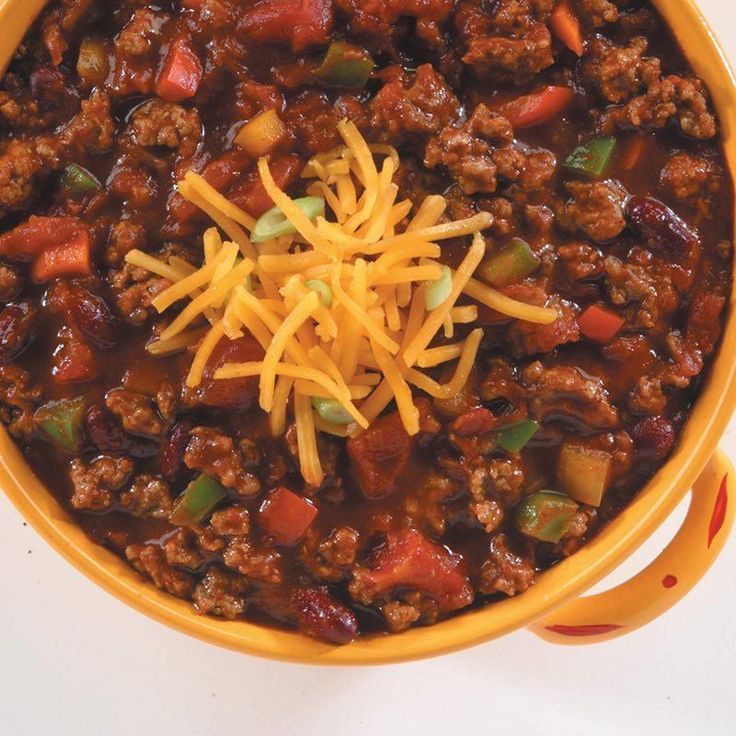 Our most colorful chili starts with McCormick® Chili Seasoning Mix and your choice of vegetables.