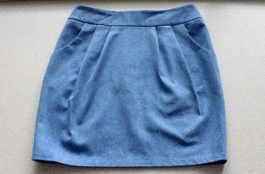 burda pattern, denim skirt, handmade, sewing, spódnica tulipan, spodnica dzinsowa, szycie, tulip skirt, wkroj burda