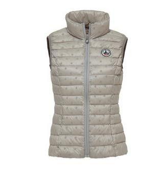 Women down vest, ultra light jott down vest, JOTT down jacket, female print star white duck down vest for winter