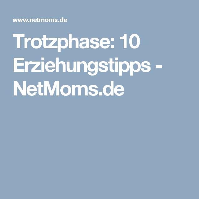 Trotzphase: 10 Erziehungstipps - NetMoms.de