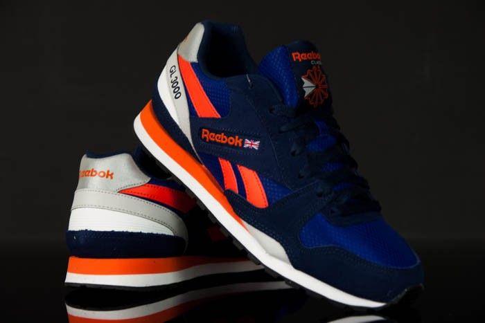 REEBOK GL 3000 V67653, Reebok Schuhe sind für die Menschen, die Klassik und Qriginalität in den sportlichen Akzent schätzen. NUR -- 49 Euro #Reebok #Schuhe #Menschen #Akzent #Sport