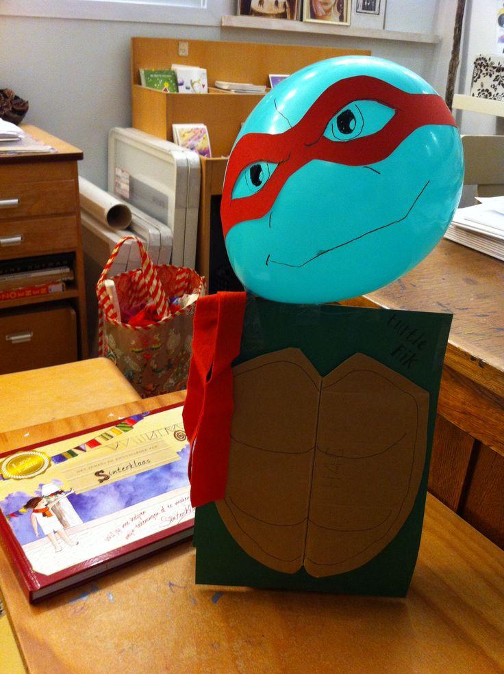 Sint surprise... Ninja turtle