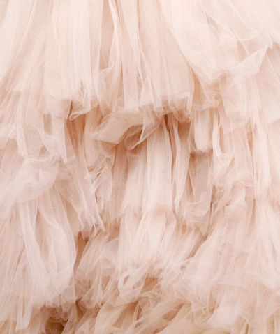 pink ruffled tulle