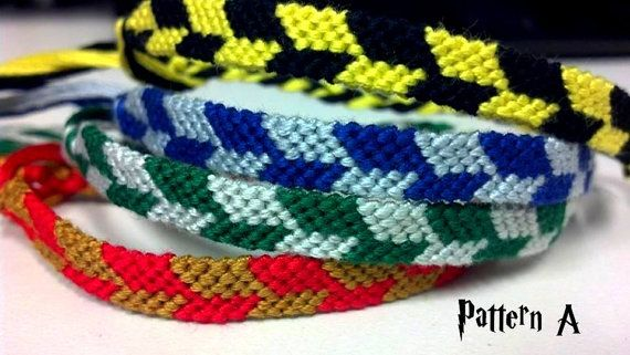 Harry Potter Friendship Bracelets Set of 4
