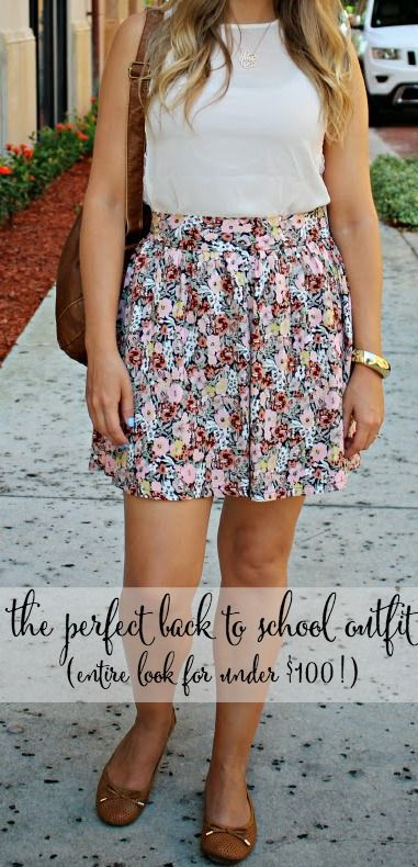 My Favorite Back to School Outfit {Under $100 Total!} @Searsstyle #SearsStyleFind #spon