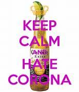 KEEP CALM AND HATE CORONA - KEEP CALM AND CARRY ON Image Generator