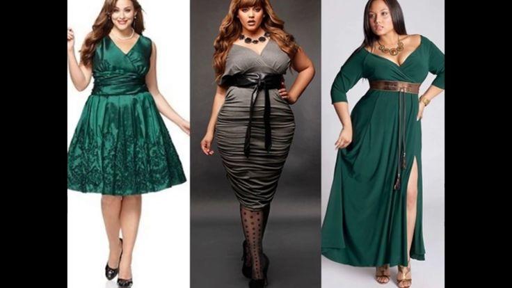 Праздничные наряды для полных женщин