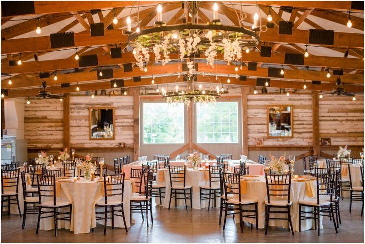 Barn Wedding Reception | Rustic Elegant Barn Vineyard Estate Wedding At The Vintager Inn In New ...