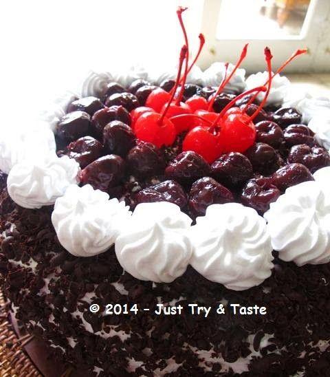 Just Try & Taste: Black Forest Cake Versi Kukus - Kue untuk Ultah Kirana
