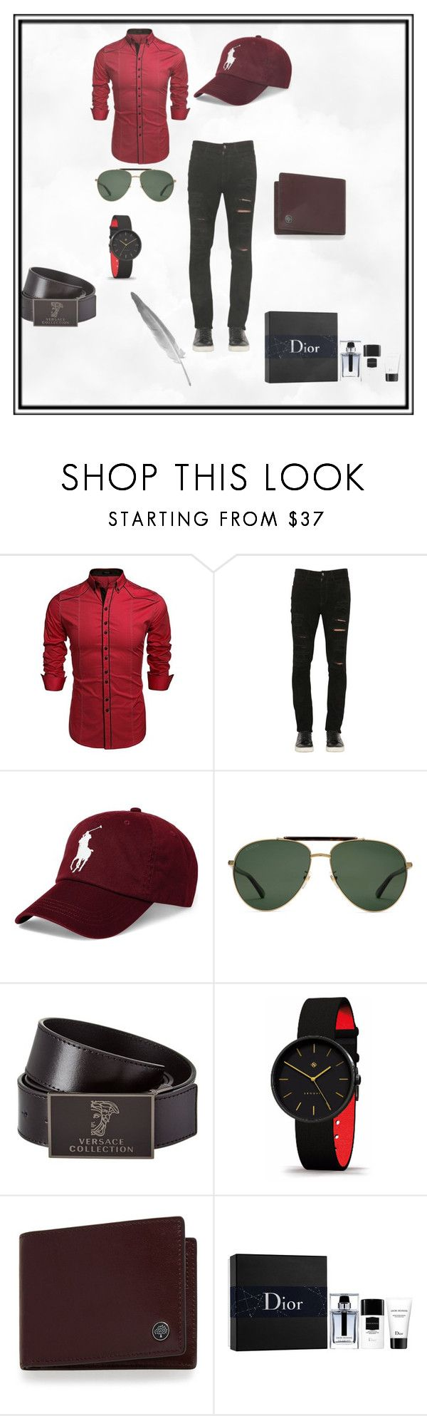 """Bez naslova #2"" by nisa-besic ❤ liked on Polyvore featuring Giorgio Brato, Polo Ralph Lauren, Gucci, Versace, Mulberry, Christian Dior, men's fashion and menswear"