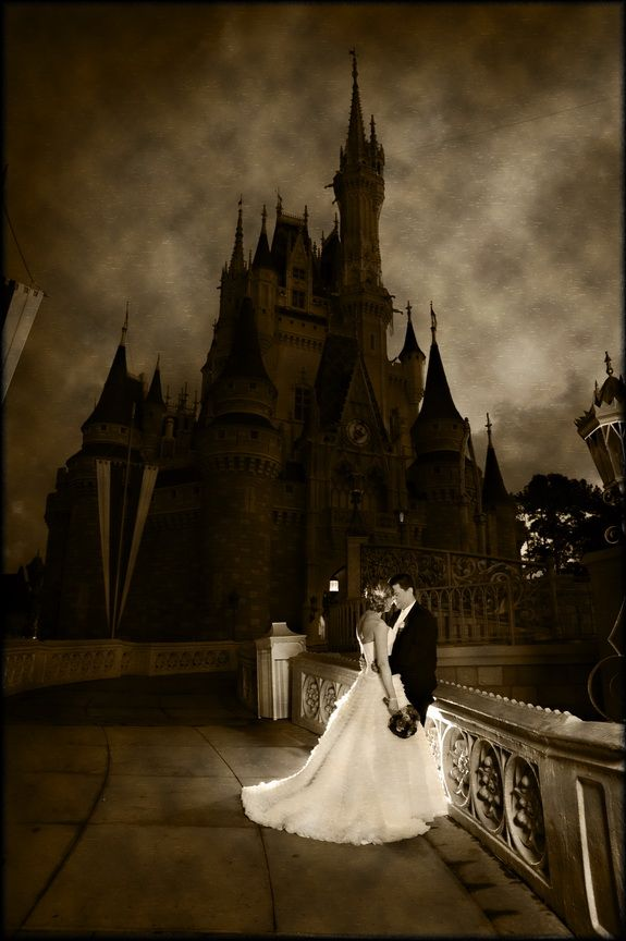 I love the effect used to make Cinderellas Castle at Walt Disney World look like this!    Magic Kingdom Photography: Stephanie with Disney Fine Art Photography    Source: Magical Day Weddings#Repin By:Pinterest++ for iPad# I seriously want this picture!