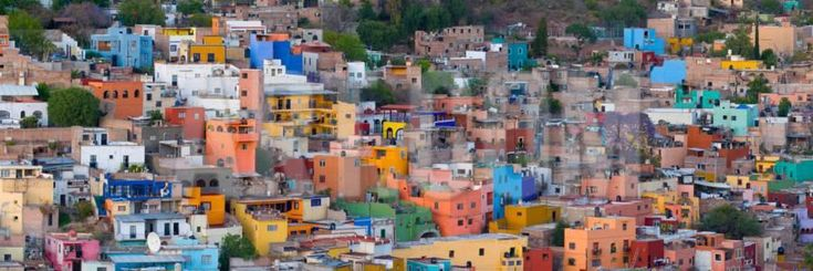 High Angle View of Buildings in a City, Guanajuato, Mexico Photographic Print by Panoramic Images at Art.com