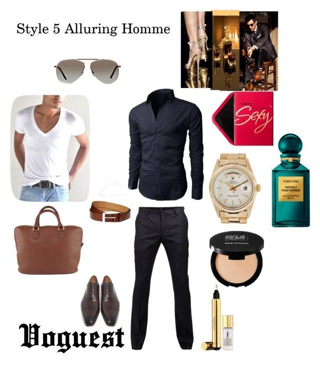 """""""Style 5 Alluring Homme"""" by thevoguestparis on Polyvore"""