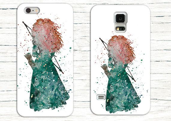 Disney's Brave, Merida Phone Case for iPhone 6, iPhone 5/5c, iPhone 4 and Samsung S6, Samsung S5, Samsung S4