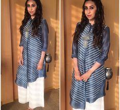 Karisma Kapur # am:pm: Indian casual look# oxidised Jewelry