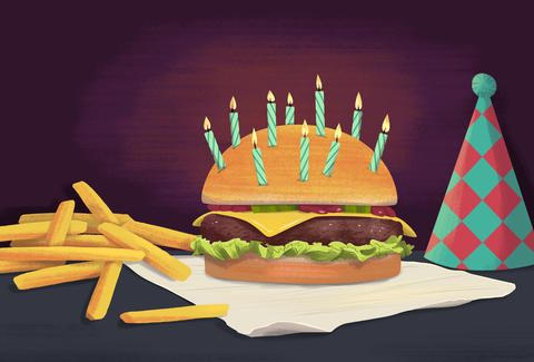 75 RESTAURANTS THAT GIVE YOU FREE FOOD ON YOUR BIRTHDAY