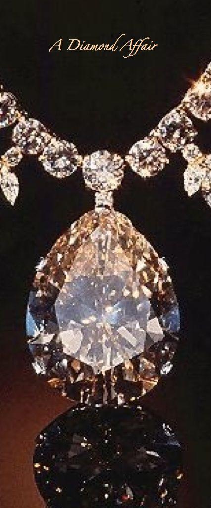 The Champagne Diamond Necklace - A Diamond Affair
