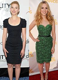 Whether you're petite, pear shaped or plus sized, you can rock your gorgeous body by copying one these celebs' styles