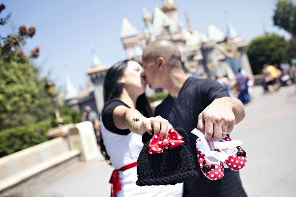 Sheri and Bill's Maternity Session at Disneyland - Inspired By Dis