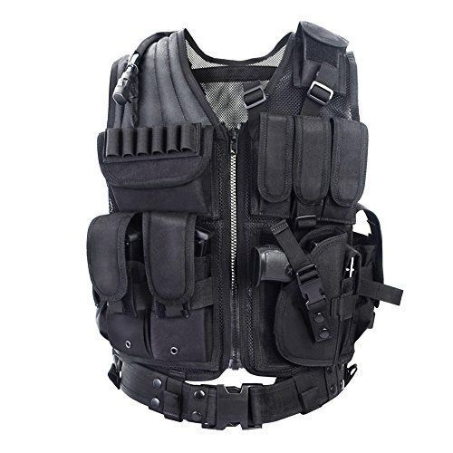 Army Fans Tactical Vest  Special Forces Combat Equipment Lightweight Breathable #YAKEDA