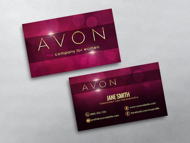 Avon визитки заказать сплеш уход маска для лица от эйвон