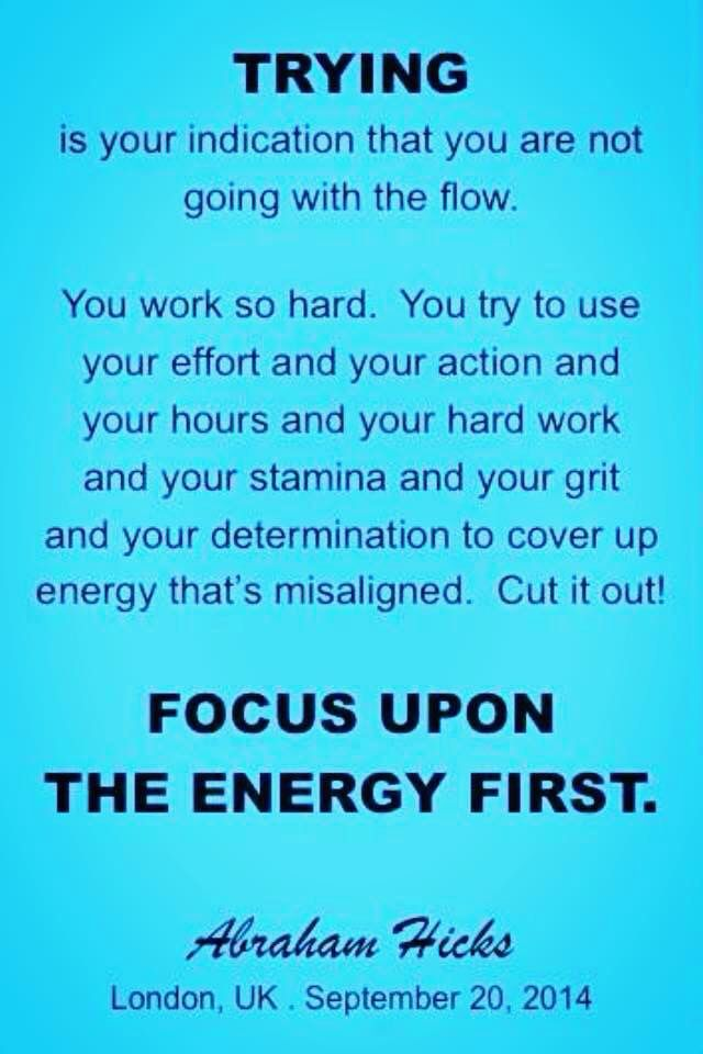 Positive Spiritual Energy Quotes: Focus Upon The Energy First..