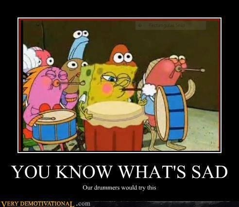 "We actually have!!!  BD: ""Okay you guys, remember not to breathe until the fourth measure!""  Percussionists: *MAKE DRAMATIC SCENE OF HOLDING BREATH*  BD: *sigh* Eveybody EXCEPT the percussionists!"