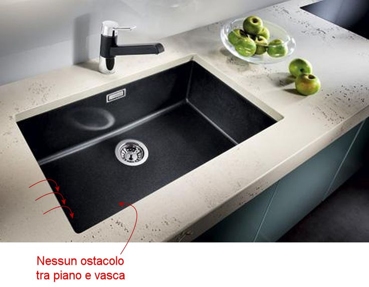 Oltre 25 fantastiche idee su lavello nero su pinterest - Lavelli cucina fragranite ...