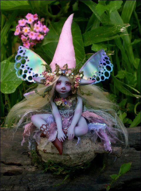 Très jolis Miniwinni fée Faery Faerie poupée par scarletsbones
