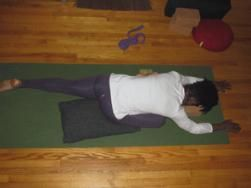 Crazy Stressed? Learn to Relax with Restorative Yoga : Betweenlast-minute shopping, holiday parties, travel, work and limited gym hours, it's no wonder you're stress levels have peaked by the time Santa comes to town. So why not reward yourself for completing your to-do list by swapping your regular sweat... #SelfMagazine