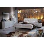 Vivian Modern White Platform Bedroom Set  SPECIAL PRICE: $991.00