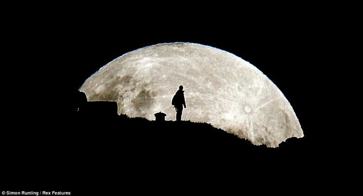 super moon 2013 | Southern Hemisphere: The supermoon seen from Mount Eden in Auckland ...