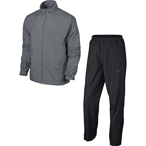 Nike Golf Mens Storm Fit Rain Suit (COOL GREYBLACKANTHRACITE L)