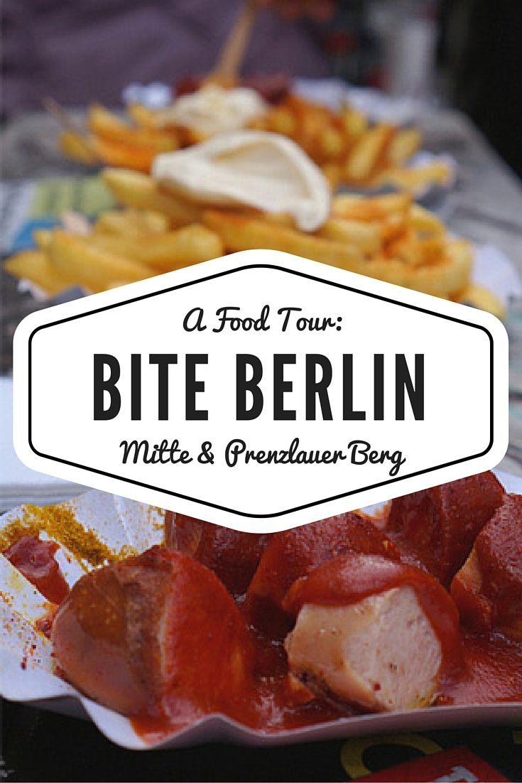 Bite Berlin: A Berlin Food Tour featuring a mix of German favourites (I'm looking at you Currywurst!) as well as international dishes with a German twist.