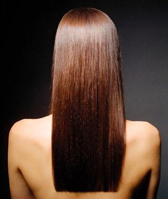 One Length Hair on Pinterest | One Length Haircuts, Cap Highlights ...