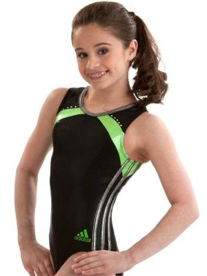 The back to school adidas leotards collection features the classic triple stripe workout leotard.