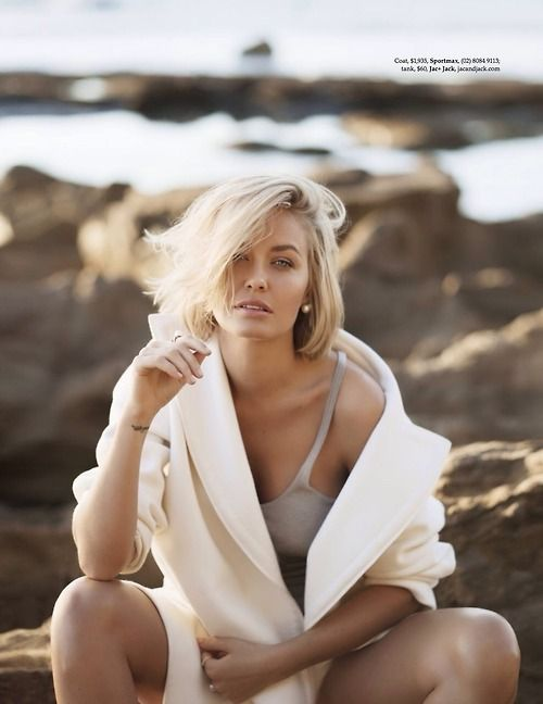 Lara Bingle for Elle - Jadore la superficialité!