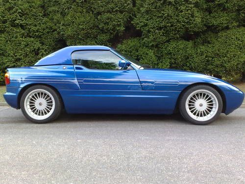 Blue BMW Z1 ( RLE look ) For Sale (1991) on Car And Classic UK ...