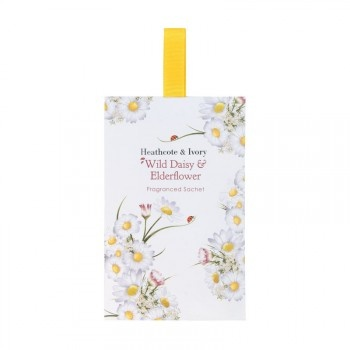#HeathcoteIvory http://www.heathcote-ivory.com/in-the-home/wild-daisy-elderflower-fragranced-sachet-pack-of-two.html