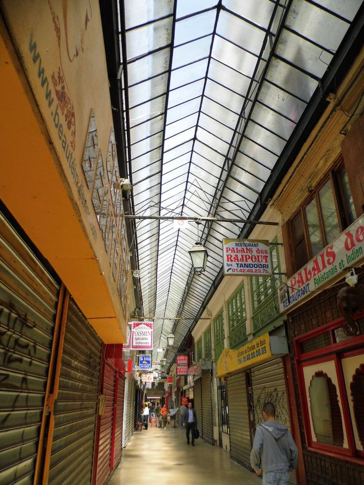 Passage Brady, Paris. full of indian restaurants, exotic shops, etc