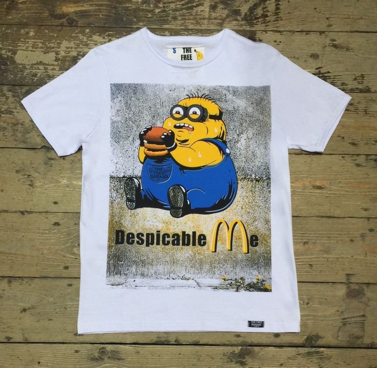 minion despicable me fat minion funny men top men t-shirt uk seller by londonteeclub on Etsy