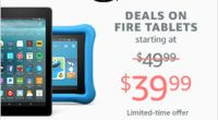 Shop Amazon Devices – Save up to $30 on Fire Tablets