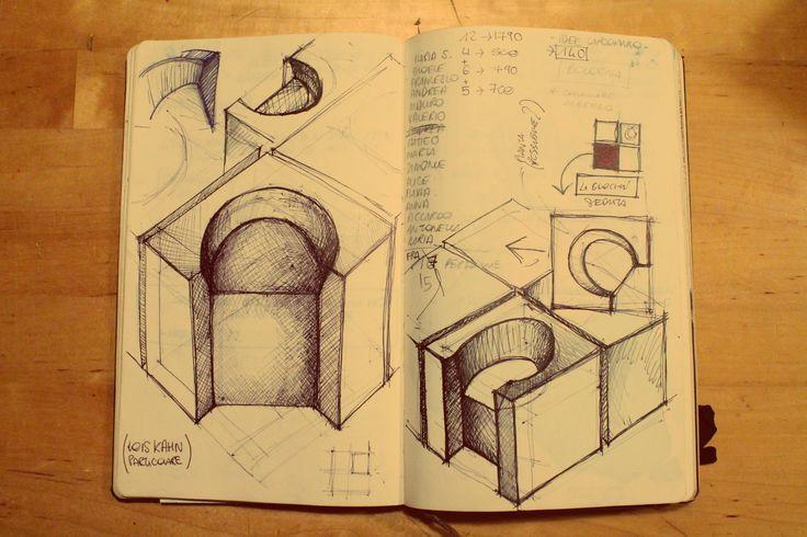 Studio seduta Louis Kahn