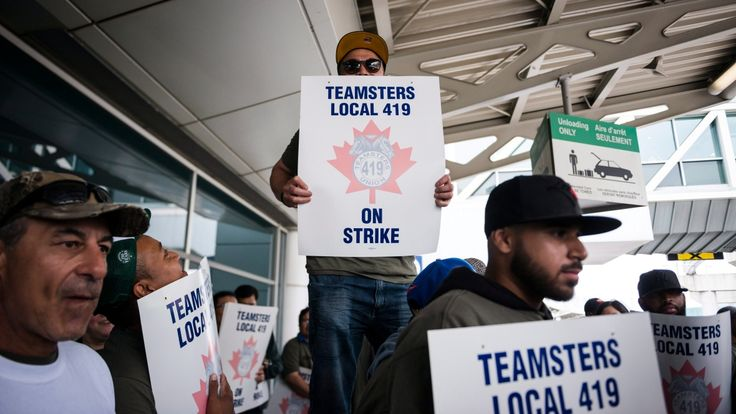 The Canadian Press   Unionized ground crew workers will continue to walk picket lines this weekend at Toronto's Pearson International Airport after voting to reject a deal with their employer. The airport has said the labour disruption could impact some flights and is asking passengers to... - #Lines, #News, #Pearson, #Picket, #Remain, #Travellers, #Urged
