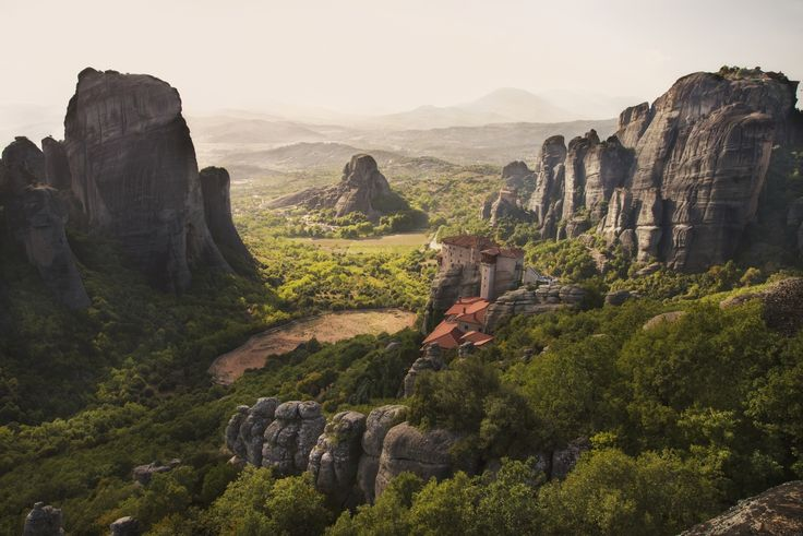 One of the most beautiful landscapes in Greece