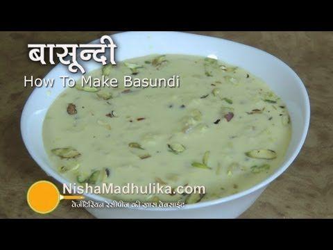 nisha madhulika recipes in hindi basundi - Bing video